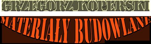 Materiały budowlane, transport hds - Grzegorz Koperski